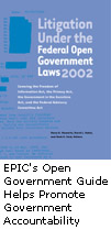 EPIC's Open Government Guide Helps Promote Government Accountability