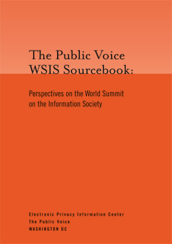 Public Voice WSIS Sourcebook
