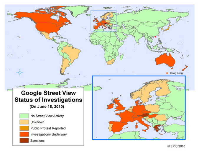 """EPIC - Investigations of Google Street View """"Illegal"""" Spying"""